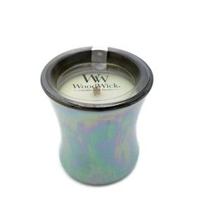 Woodwick Fig Leaf Tuberose Small Iridescent Candle